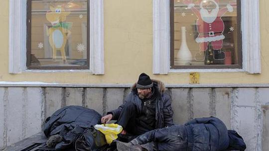 Hiện có từ 3 đến 4 triệu người vô gia cư tại Nga. Ảnh: Reuters