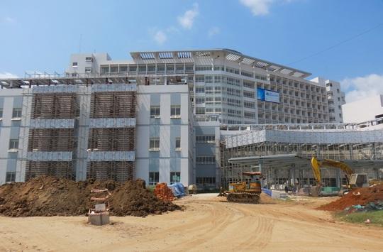 Bệnh viện Đa khoa Trung tâm An Giang sắp đưa vào sử dụng thì bị phát hiện làm sai thiết kế ban đầu.