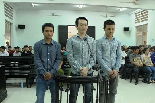 Các bị cáo tại phiên phúc thẩm ngày 24-3