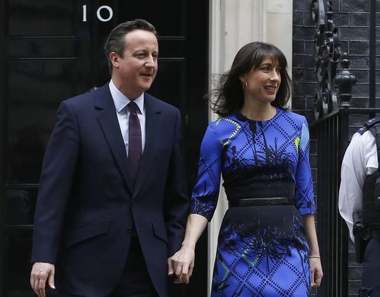 Đứng nhất là Samantha Cameron – Vợ Thủ tướng Anh David Cameron