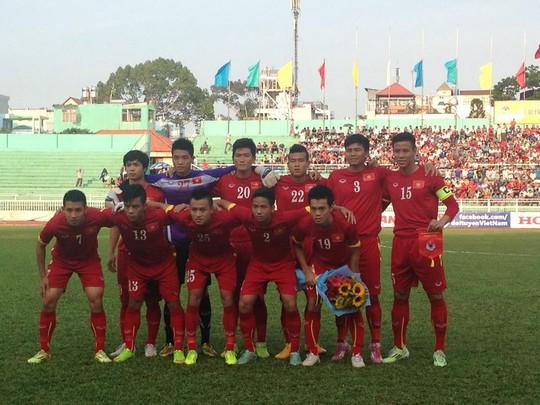 Đội hình xuất phát của Việt Nam