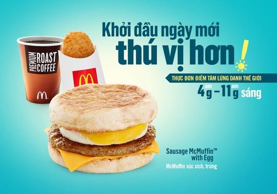 McDonald's tung món mới hút khách Việt