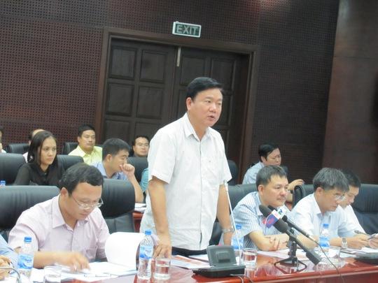 Bộ Trưởng Đinh La Thăng chủ trì buổi họp