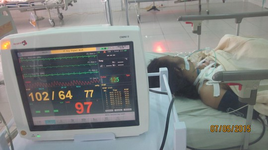 Do sức khỏe có chiều hướng xấu sau khi phẫu thuật, bà Xuân đã được chuyển lên Bệnh viện Chợ Rẫy