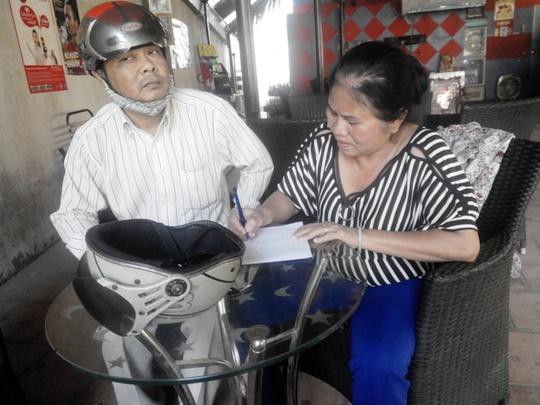 Đối tượng lừa đảo Nguyễn Thị Tuyết Hồng viết tường trình thừa nhận hành vi của mình