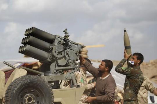 Quân đội Iraq hợp tác cùng các chiến binh