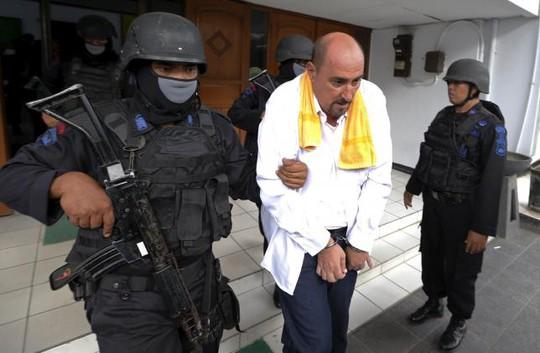 Công dân Pháp Serge Atlaoui bị Indonesia kết tội buôn bán ma tuý. Ảnh: Reuters