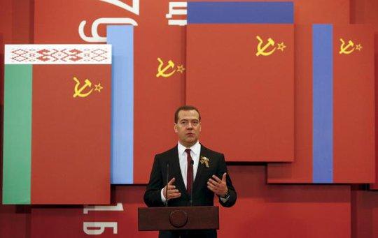Thủ tướng Nga Dmitry Medvedev