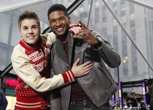 Justin Bieber và Usher