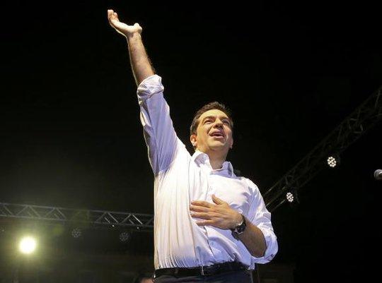 Thủ tướng Hy Lạp Alexis Tsipras diễn thuyết kêu gọi nói không với gói cứu trợ