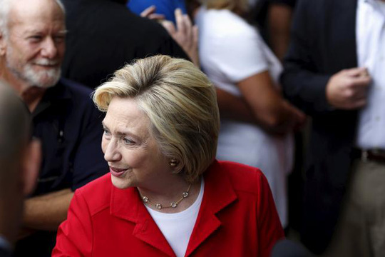 Bà Hillary Clinton cáo buộc thẳng thắn tin tặc Trung Quốc xâm nhập đánh cắp bí mật thương mại. Ảnh; Reuters