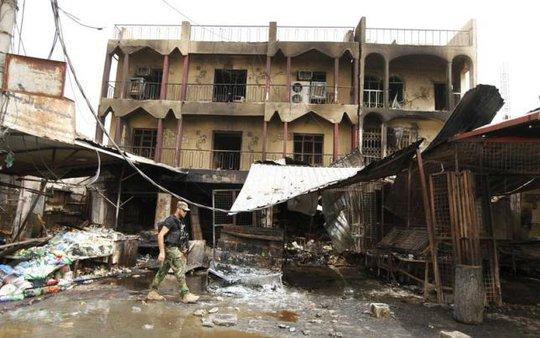 Mỹ lên án vụ đánh bom của IS khiến 100 người thiệt mạng ở Iraq. Ảnh: Reuters