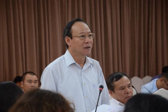 Thứ trưởng Bộ Công an Lê Quý Vương trả lời đại biểu
