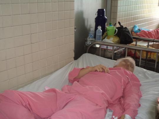 Bệnh nhân T.T.B.T đang được điều trị tại Bệnh viện Chợ Rẫy