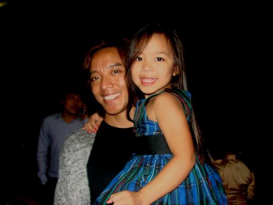 Nhạc sĩ Hoài Phương và con gái