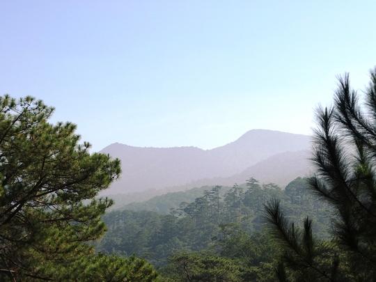 Đỉnh núi Bidoup, cao 2.278m, cao nhất cao nguyên Lâm Viên