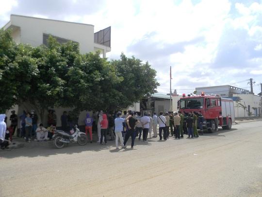 Khục vực xảy ra sự cố rò rỉ khí gas khiến gần 300 công nhân được một phen hoảng loạn.