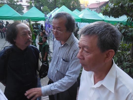 Giáo sư nhạc sĩ Thế Bảo, nhạc sĩ Phan Hồng Sơn và Lê Văn Lộc ôn lại những kỷ niệm khó quên về nhạc sĩ Phan Huỳnh Điểu