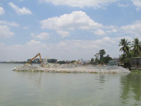 Dự án lấn sông Đồng Nai có nhiều vấn đề chưa tuân thủ chặt chẽ các quy định hiện hành