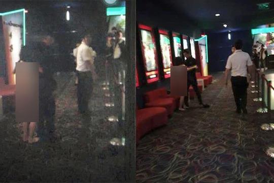 Vụ việc xảy ra tại rạp chiếu phim