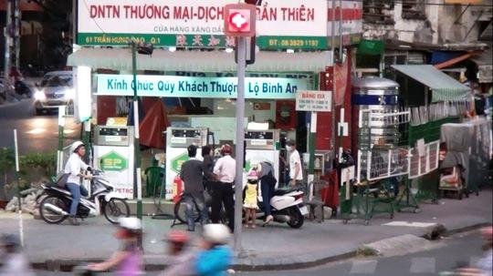 Cây xăng Trần Thiên Ảnh:  lê Phong