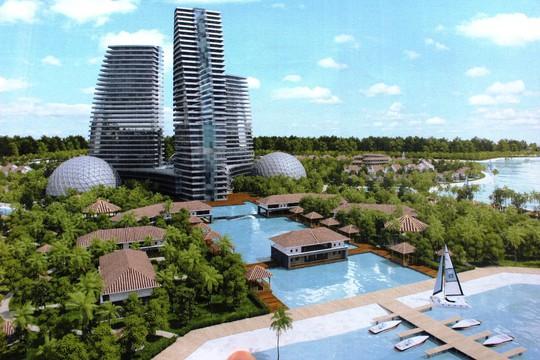 Phác thảo trung tâm giải trí quốc tế ở Khu Du lịch Bắc bán đảo Cam Ranh