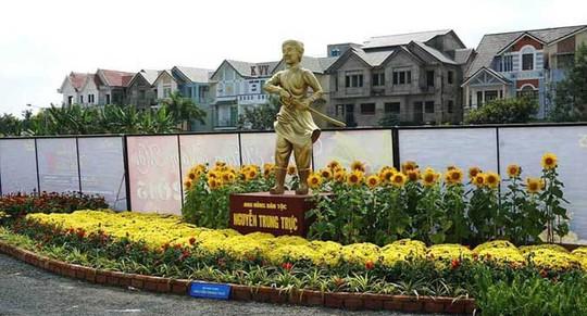 Mô hình đến thờ anh hùng Nguyễn Trung Trực