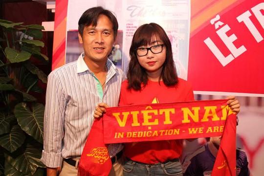 Cựu cầu thủ Minh Phương cũng có mặt trong gala trao giải tối 14-4