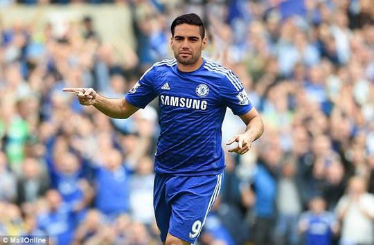 Falcao sẽ khoác màu áo xanh Chelsea trong mùa giải mới