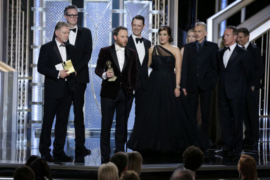 Phim quay trong 12 năm thắng Quả cầu Vàng 2015