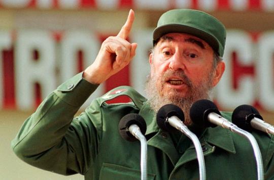 Cựu Chủ tịch Cuba Fidel Castro. Ảnh: cibercuba.com