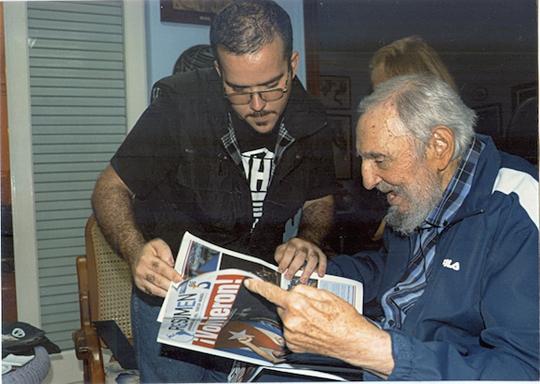 Ông Fidel Castro tại Havana. Ảnh: Reuters
