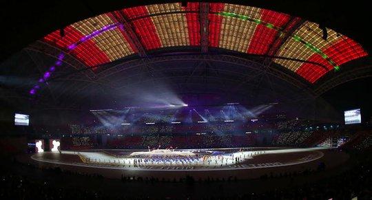 SVĐ quốc gia Singapore, nơi diễn ra lễ khai mạc