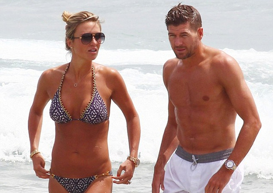 Gerrard và vợ từng du lịch tại đây năm 2014