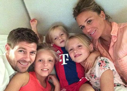 Gia đình của Steven Gerrad