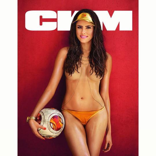 Celia Juanat trên bìa tạp chí CMM