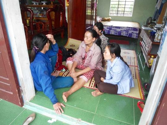 Gia đình anh Nguyễn Văn Chiến chết lặng khi nghe hung tin