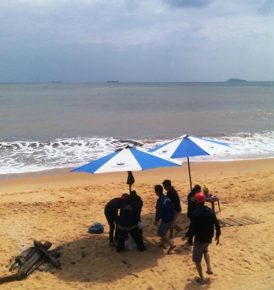 Tắm biển, một học sinh mất tích đã 2 ngày