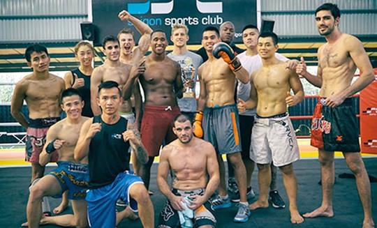 Các võ sĩ tham dự giải