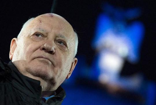 CựuTổng thống Liên Xô Mikhail Gorbachev. Ảnh: Worldbulletin.net