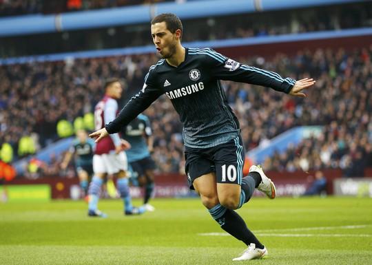 Hazard tiếp tục tỏa sáng trong màu áo Chelsea