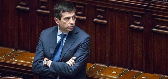 Bộ trưởng Maurizio Lupi vẫn tự tin dù đối mặt nhiều sức ép Ảnh: ilpost.it