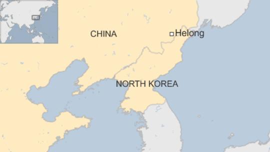 Vụ việc xảy ra tại thị trấn Hạ Long (Helong). Nguồn: BBC