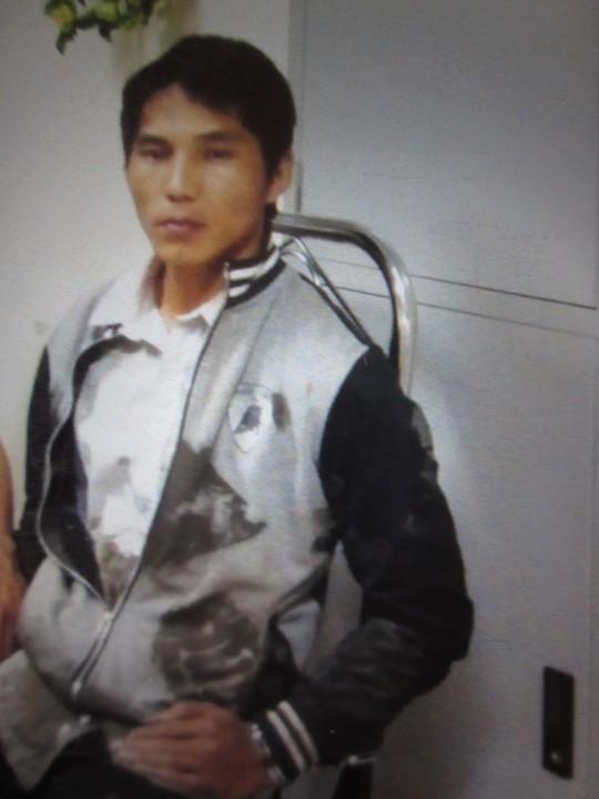 Boun Keut khi bị bắt giữ