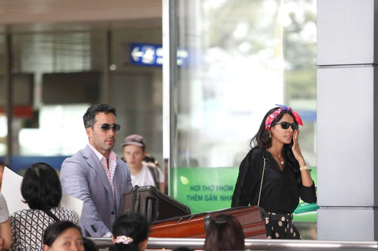 Hoa hậu Thế giới 2011 Ivian Sarcos và chồng sắp cưới