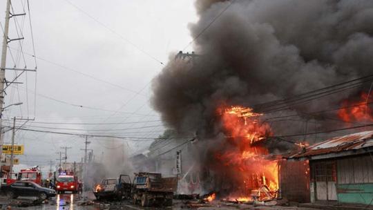Philippines từng bị nhiều vụ bom xe gây thương vong lớn. Ảnh: AP