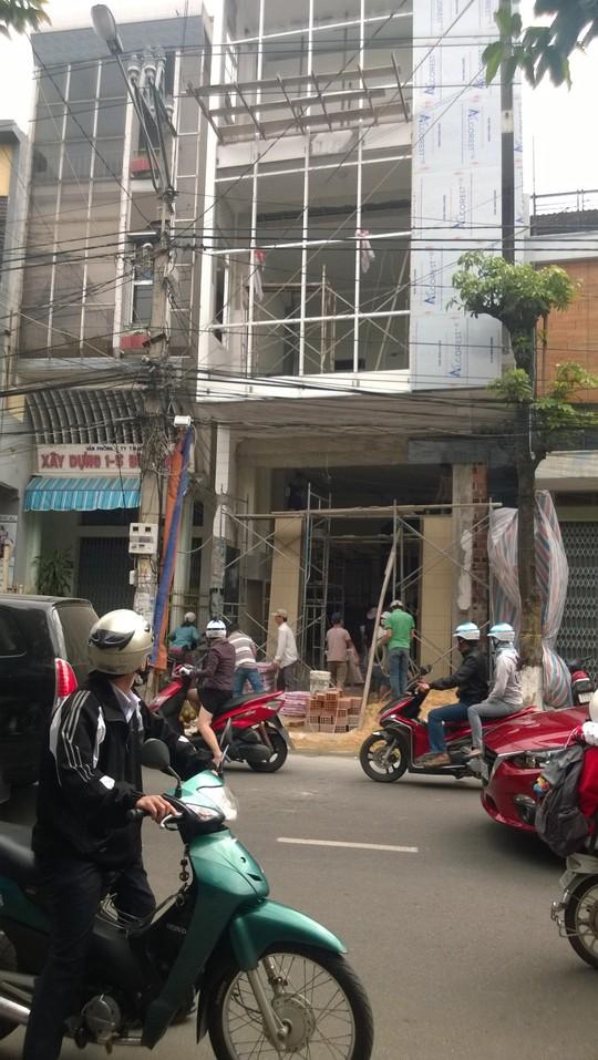 Hiện trường nơi anh Huề bị tai nạn