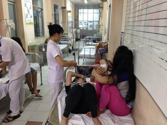 CN được cấp cứu tại Bệnh viện quận Thủ Đức
