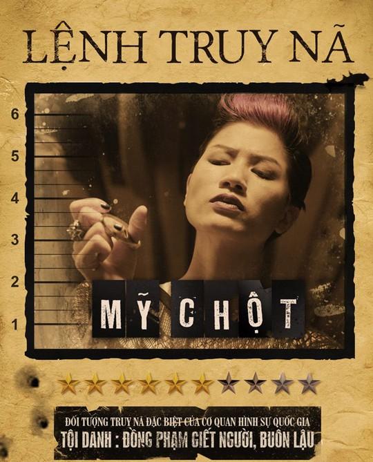 Vai Mỹ chột của Trang Trần trong phim Hương ga