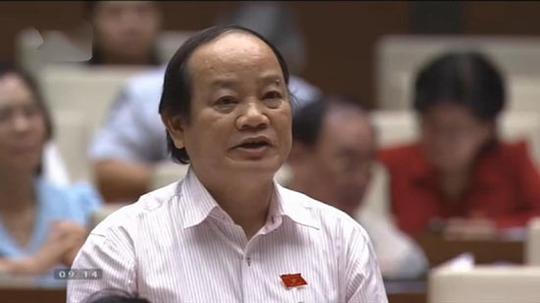 Đại biểu Huỳnh Nghĩa (Đà Nẵng) đặt câu hỏi chất vấn Phó Thủ tướng